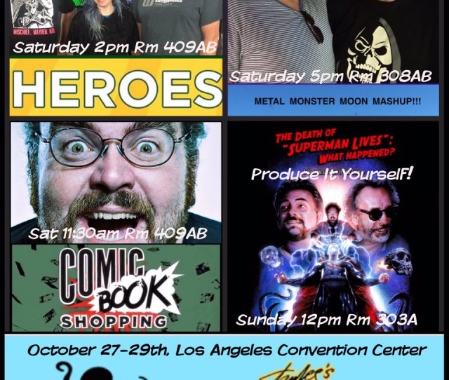 Jon Schnepp On Twitter Im Doing  Crazy Extra Sweaty Panels At Stanleecomiccon Next Weekend Get Your Tickets Come To The Panels And My Booth At