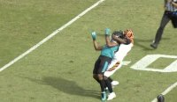 AJ Green Gets Pushed Down By Jalen Ramsey, He Responds By Choking Him Out And Punching His Helmet