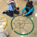 Denise Casas On Twitter Today S Stem Challenge Create A Spider Web Using A Box Hula Hoop Yarn Tape And Sticks Go 1st Grade Stem Teammaddock Https T Co Wgf2mqrwny