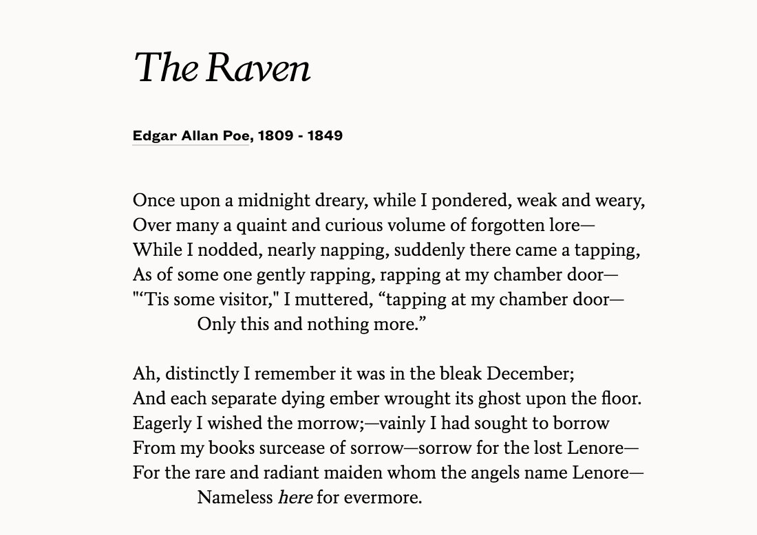 Poets On Twitter And The Raven Never Flitting
