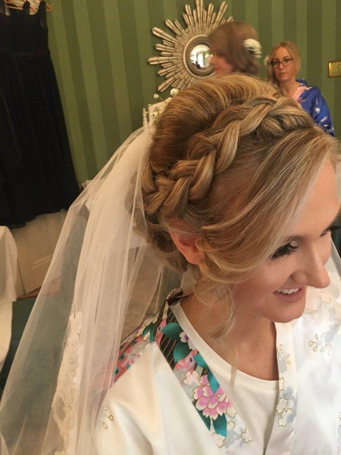"hair fantasy on twitter: ""beautiful braided bridal hair"