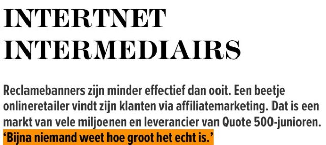 test Twitter Media - Reclamebanners zijn dood. Dus wat nu? Leve de affiliate-marketing!   📝 @MartijndeM  📰 @Quotenet  👉 https://t.co/nuL4fBFUPR https://t.co/6nPeiE5xf8