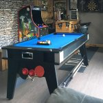 Liberty Games On Twitter Our 6ft Multi Games Table And Our Cosmic 2000 In 1 Arcade Set Up In This Jack Daniels Themed Games Room The 6mg Combines Pool Table Tennis And Air Hockey And