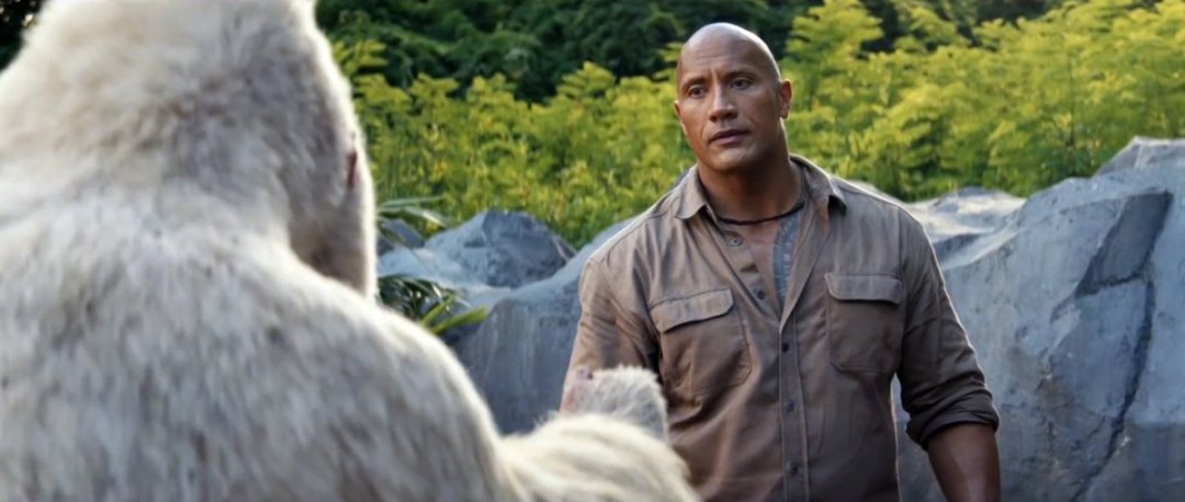 Rampage Trailer Featuring Dwayne Johnson
