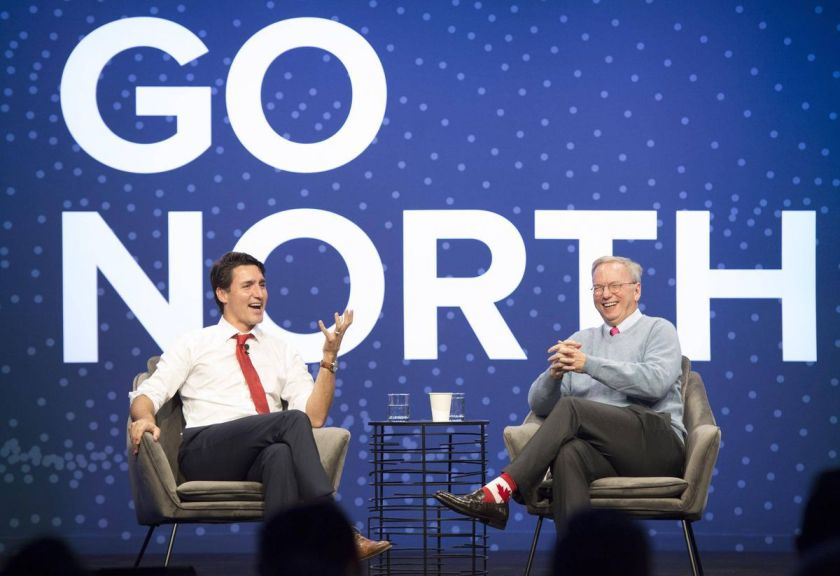 If there's any country that's at the forefront of #AI innovation, it's Canada. #GoNorth »