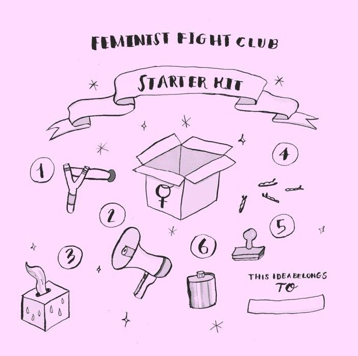 Le fight club féministe - Manuel de survie en milieu sexiste