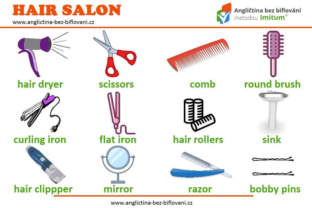 Hair Salon Vocabulary Angli Tina Bez Biflov 225 N 237 On