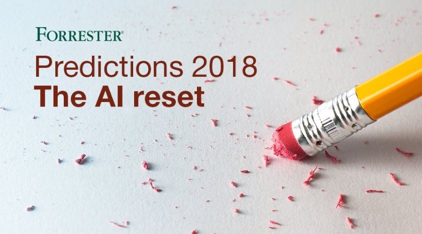 In 2018, 75% of early #AI projects will underwhelm due to operational oversights.