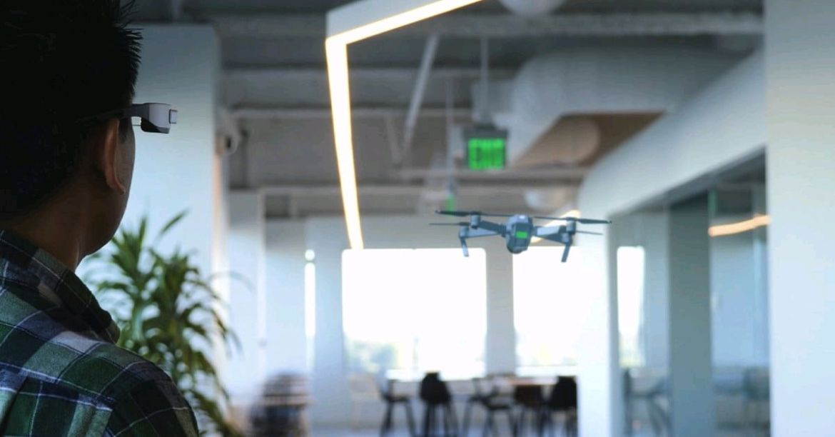 A #drone you can't crash? It's finally here, thanks to #AR and smart glasses