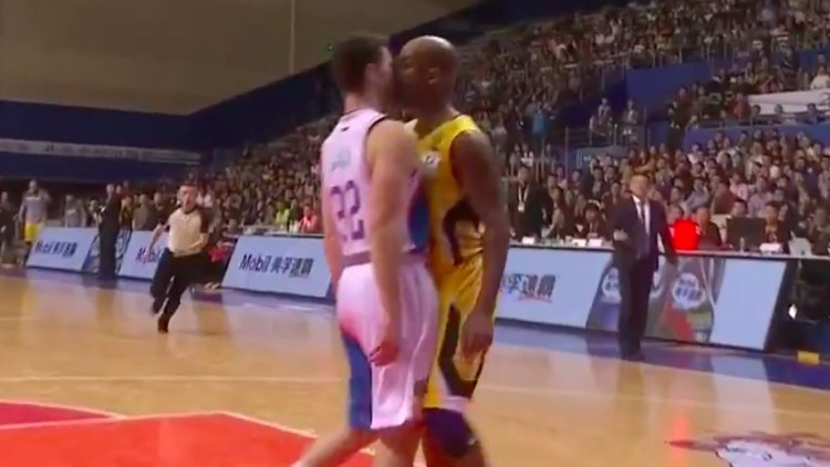 Jimmer Fredette And Stephon Marbury Almost Throw Hands During Their Game In China