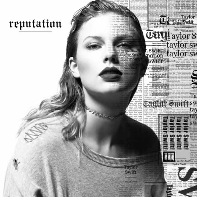 Taylor Swift – Reputation Tracklist & Artwork Revealed
