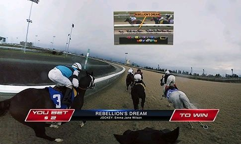 Horse Racing Streamed Live In 360-Degree #VirtualReality  #vr