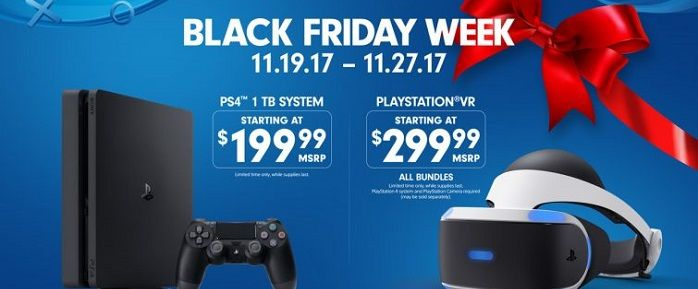Sony Unveils Black Friday Deals for PS4, PS VR | Hardcore Gamer  #PSVR #VR #VirtualReality