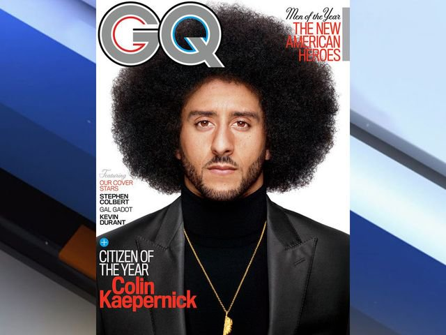 Colin Kaepernick named Citizen of the Year by GQ Magazine