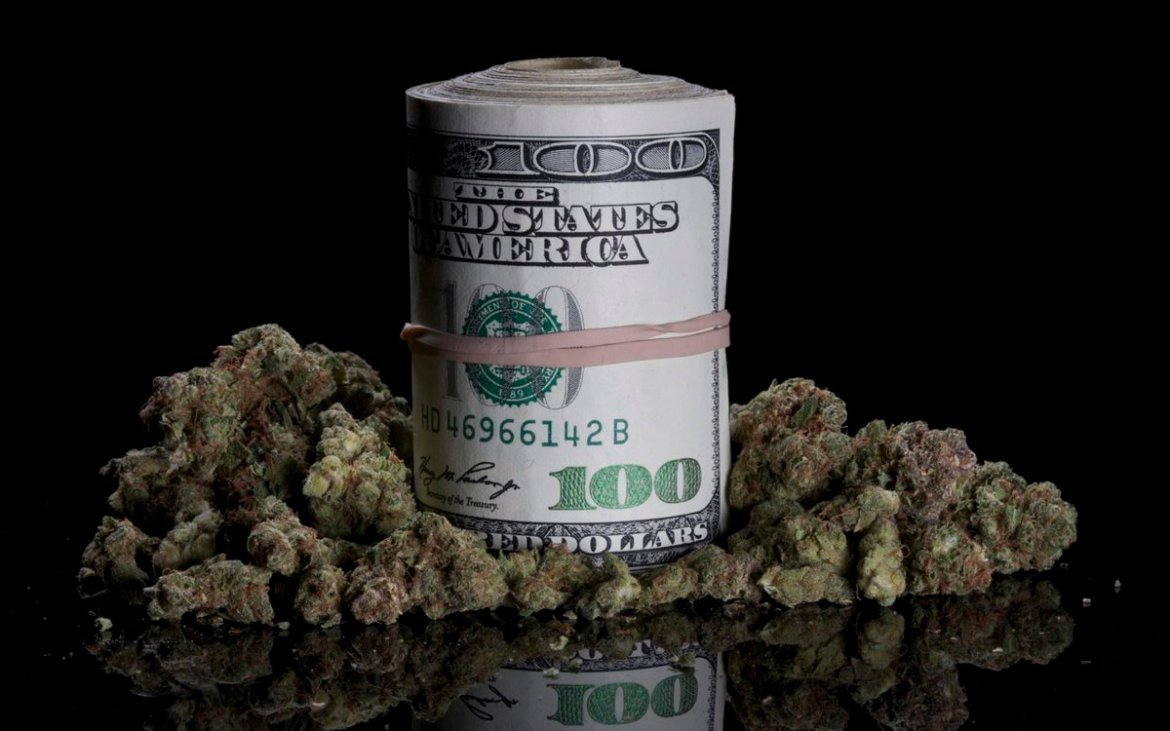 This Is How Much the Average Legal Pot User Spends a Year on Weed.