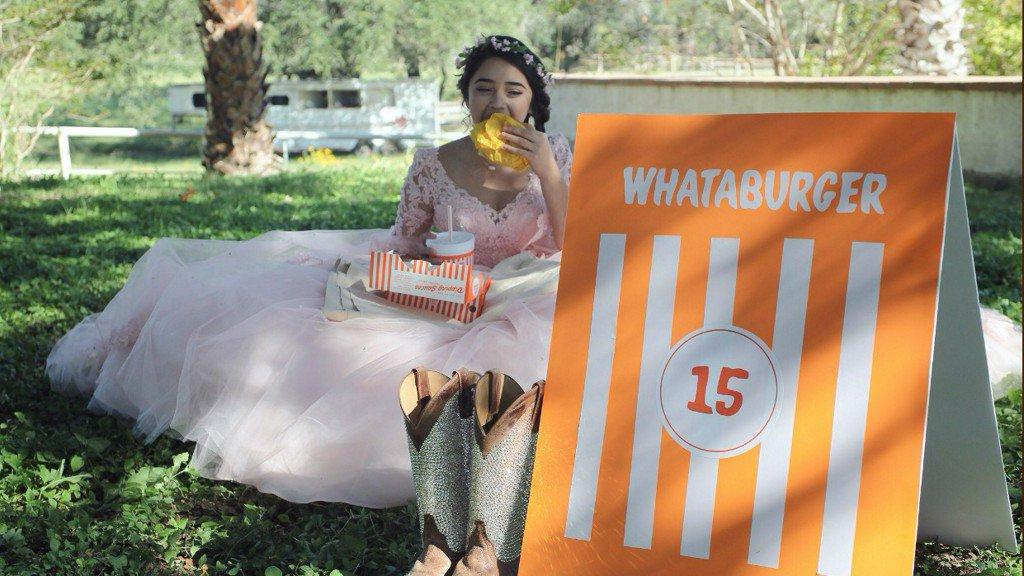 Whataburger-themed quinceanera photos go viral