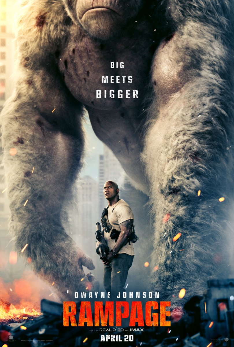 New Rampage Trailer Featuring Dwayne Johnson