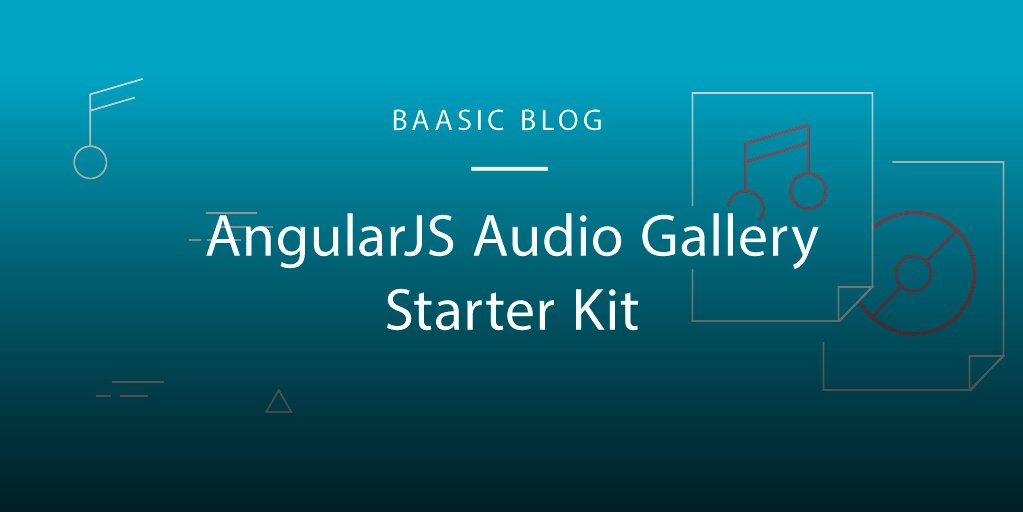 Check out our new Audio Gallery Starter Kit: . There's a Demo, too!
