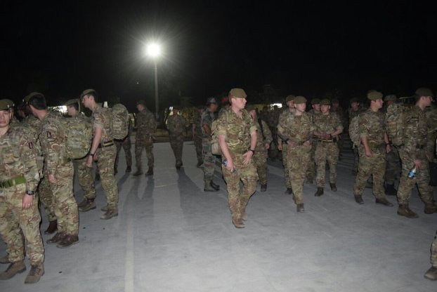 British Army troops arrives in Jaipur for India-UK joint military exercise 'Ajeya Warrior' 2017