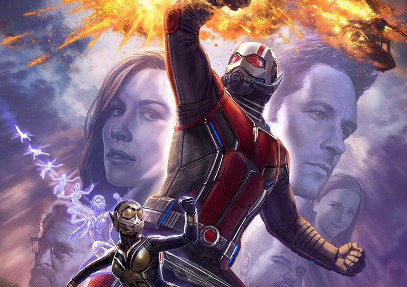 Ant-Man and The Wasp Production Wrapped