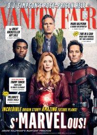 The Avengers samen op de cover van Vanity Fair