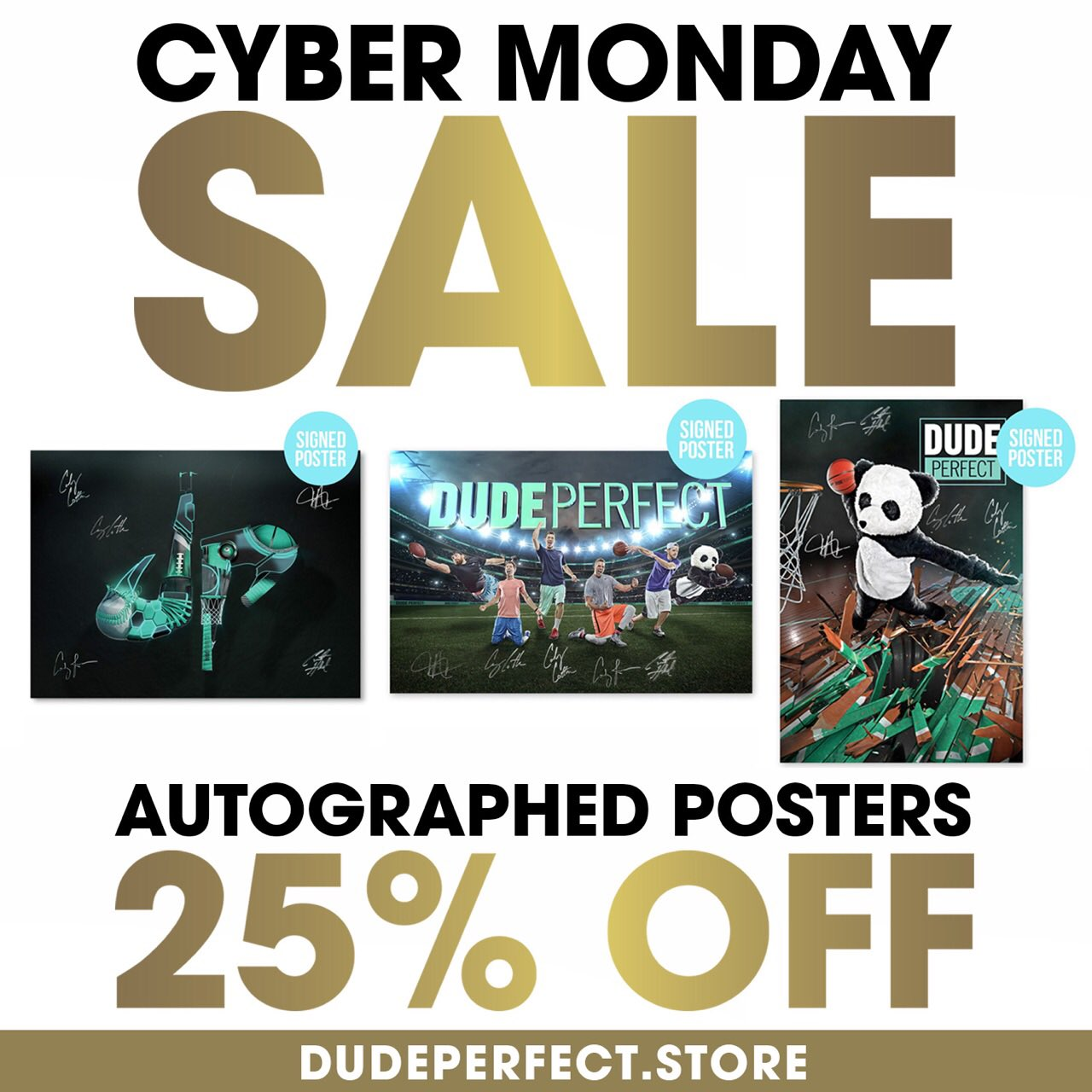 dude perfect on twitter cyber monday