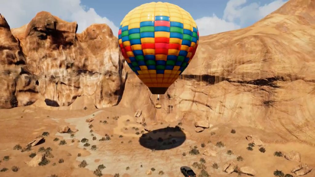 Take a Ride in this #VR Hot Air Balloon - VRScout