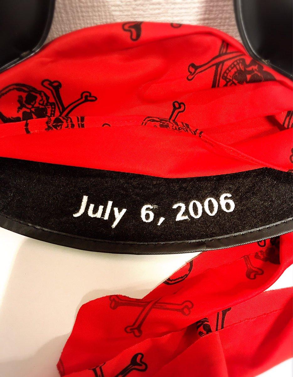 test ツイッターメディア - BLACKPEARLです! [海外でも人気なパイレーツイヤーハット] 今年のパイレーツサマーでは日本でも販売された人気商品ですが写真のイヤーハットは2006年7月6日に米ディズニーで開催されたパイレーツ2公開前夜祭イベント日付入りのパイレーツイヤーハット☠️ 未使用品入荷です☆ https://t.co/HbHL6jAcs3