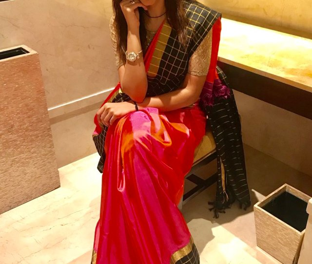 Bhavna Balakrishnan On Twitter A South Indian Girl And Her Love For Sarees Wardrobe N Accessories Courtesy Houseofviba 6yardsofsilk Workmode