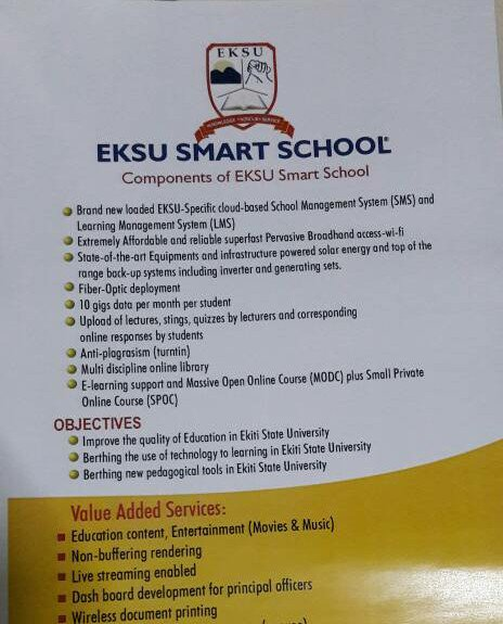 Image result for EKSU Smart School