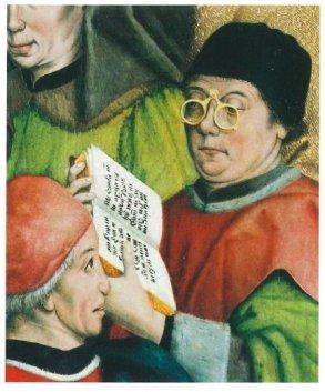Image result for medieval manuscript reading