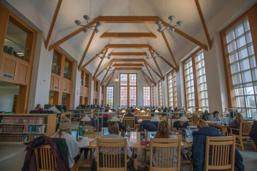 Image result for dimond library finals week unh