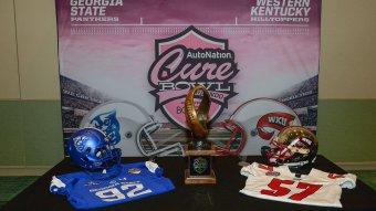 Western Kentucky vs. Georgia State Live Stream: Watch Cure Bowl Online
