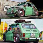Rat And Customs On Twitter What An Amazing Ratty Fiat Https T Co 1z2jwiycuy Fiat Fiat126 126 Aircooled Lowered Stanced Slammed Custom Customcar Vintage Retro Classic Whitewalls Stickers Stickerbomb Rat Ratlook Ratlife