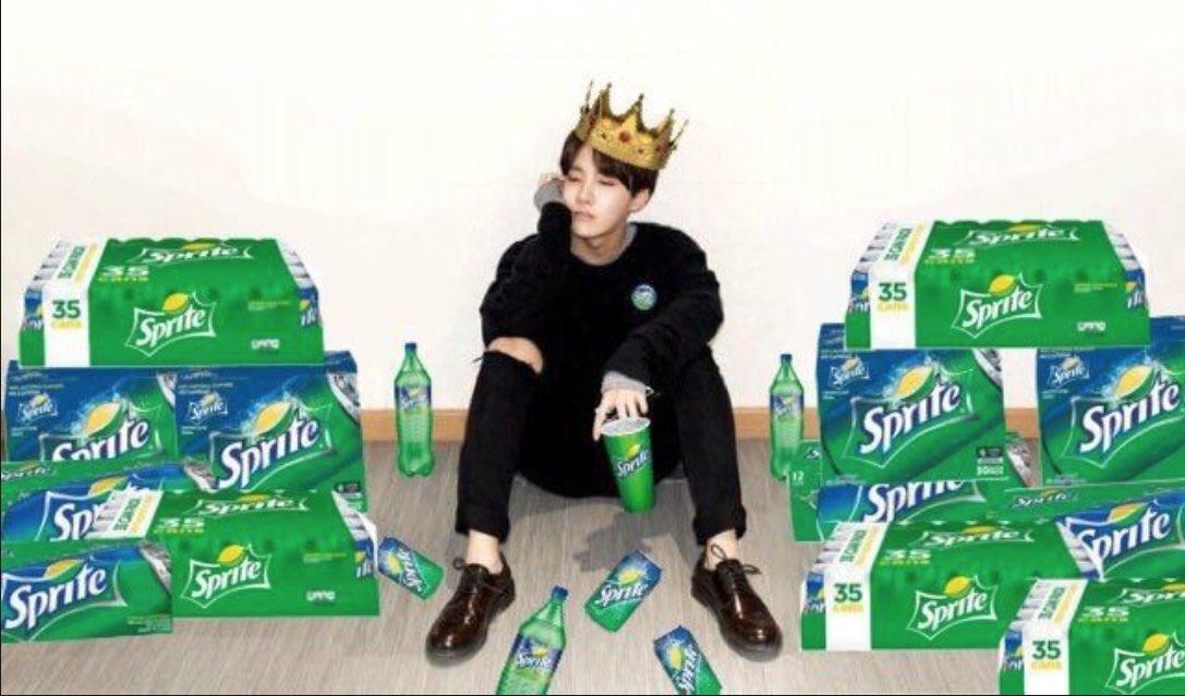 Bangtan Meme Jhope Loves Sprite But They Endorse Coca