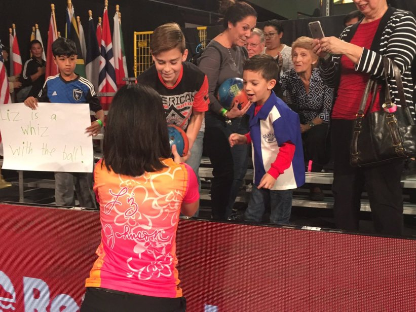 test Twitter Media - Congrats again to @liz_johnsonbowl who captured the @PBATour Chameleon Championship to become the second woman to win a PBA Tour title!   Reply with a comment to congratulate Liz!  #PWBATour #PWBA #PBATour https://t.co/3YPjvXoMzj