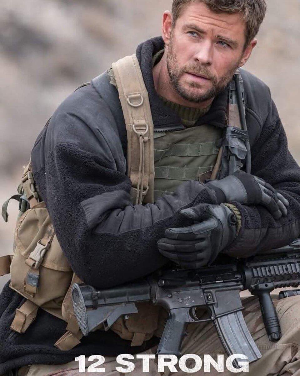 Chris Hemsworth Captain Mitch Nelson 12 Strong