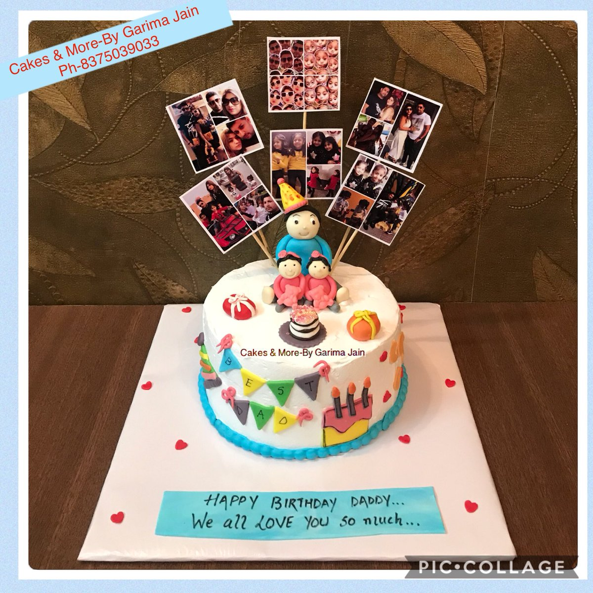 Birthday Cake For Daddy Cakes And Cookies Gallery
