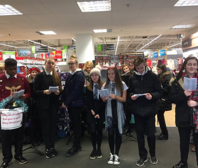 Calderside Academy On Twitter Music Department Bag Packing And Singing Christmas Carols In Asda Blantyre Today Thanks To Asda Staff And Customers