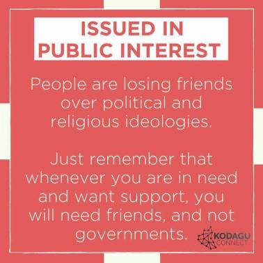 Image result for don't lose friends over politics