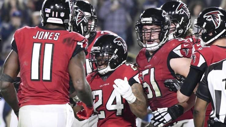Falcons enfrentarán a Philadelphia Eagles
