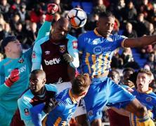 Video: Shrewsbury Town vs West Ham United