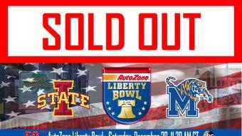 Iowa State vs. Memphis Live Stream: Watch Liberty Bowl Online