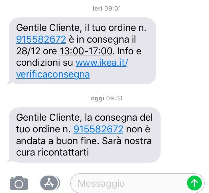 Ikea On Twitter Ciao Matteo Ci Dispiace Davvero Per Il