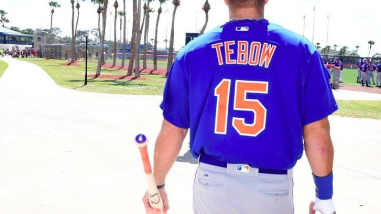 Tim Tebow Is Heading To The Mets Big League Camp For Spring Training