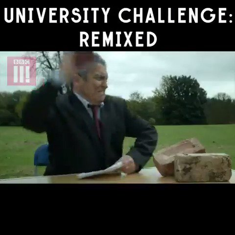 Bbc Three On Twitter Jeremy Paxman Throwing Bricks At