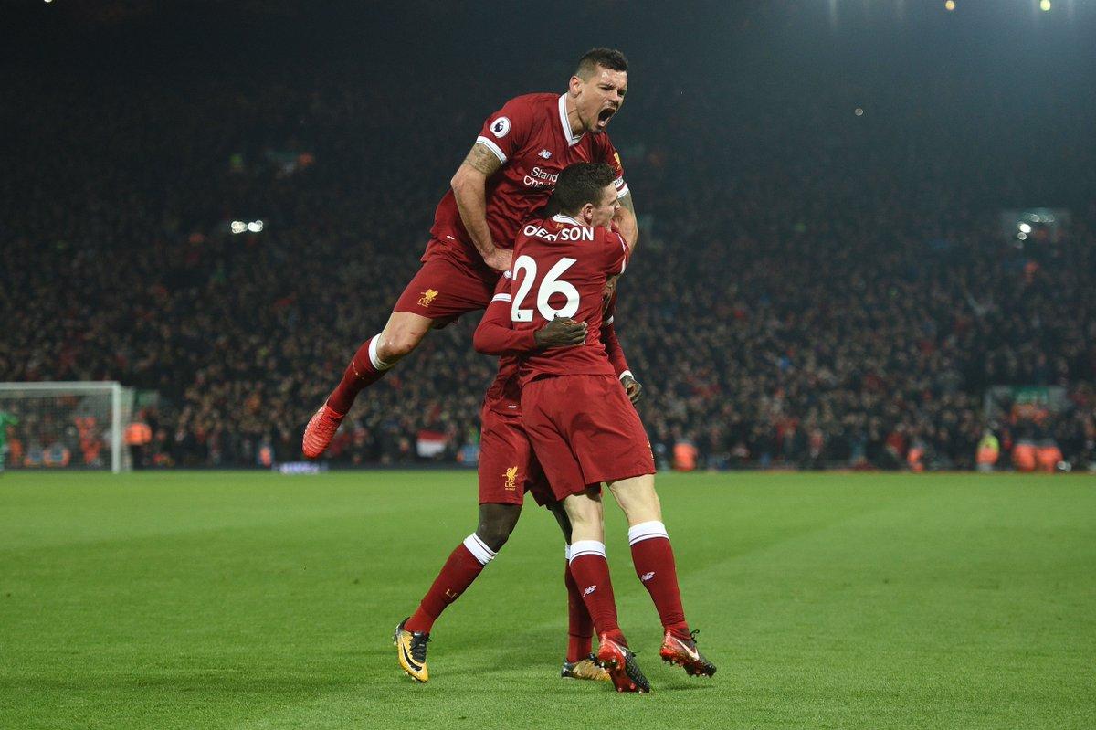 DThQNxlW0AAWi Y - WHAT A GAME!!! Liverpool Ends Man City Unbeaten Run After A 4 -3 Final Score ( Watch Goals Highlight)