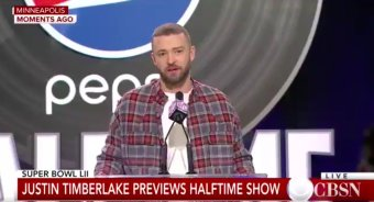 Justin Timberlake, The Super Bowl Halftime Performer, Says His Son Will Never Play Football