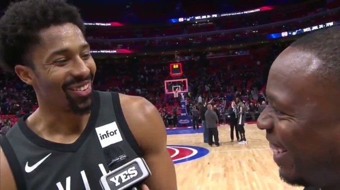 RT @NBA Spencer Dinwiddie scores 22 PTS, including the game-winning jumper, to propel the @BrooklynNets to victory!  #WeGoHard