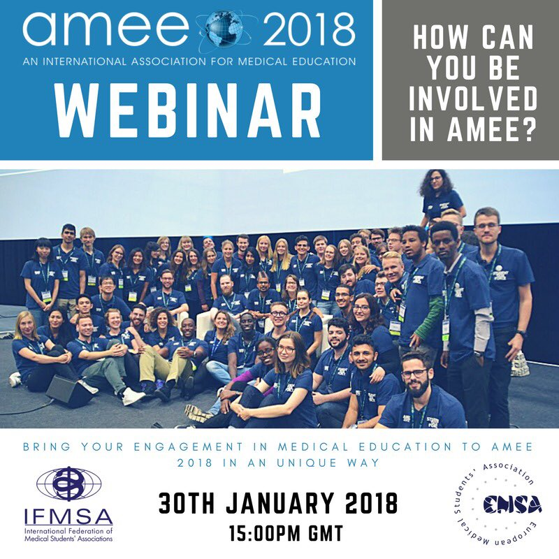 AMEE Conference 2018 Student Taskforce Application